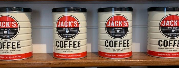 Jack's Stir Brew Coffee is one of Posti salvati di Rachel.