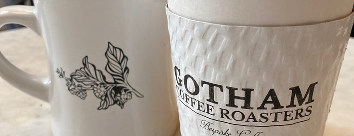 Gotham Coffee Roasters is one of Tempat yang Disukai Syeda.