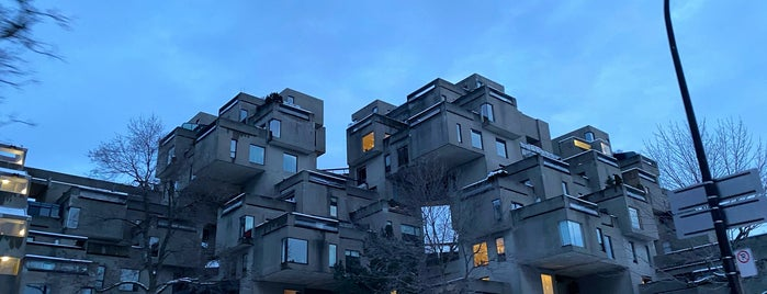 Habitat 67 is one of Lugares favoritos de Carl.