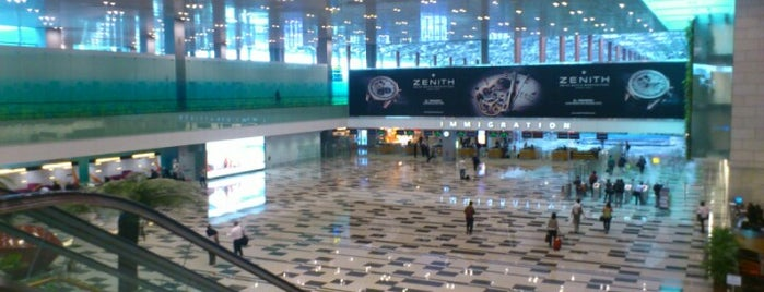 Terminal 3 Arrival Hall is one of Locais curtidos por Sanjeev.