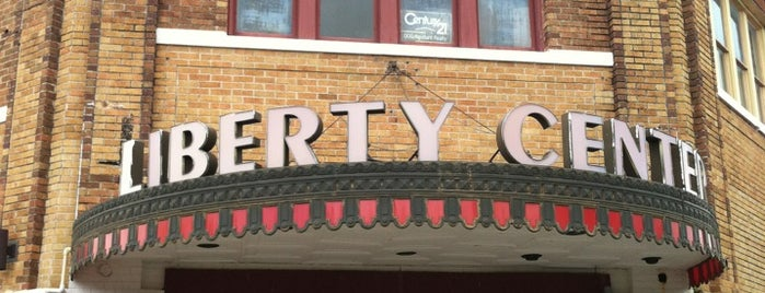 Liberty Theater is one of New Orleans/Lafayette.