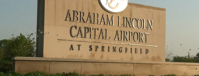 Abraham Lincoln Capital Airport (SPI) is one of Airports.