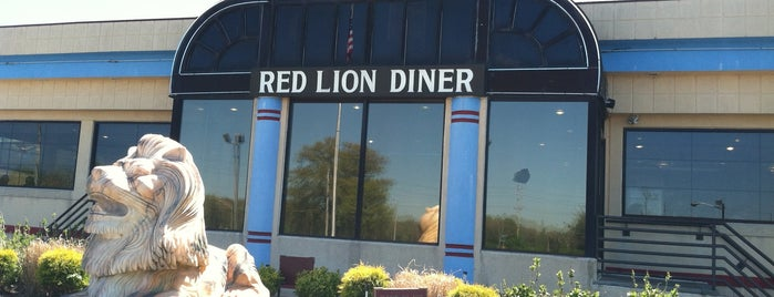 Red Lion Diner is one of Jersey Diners.