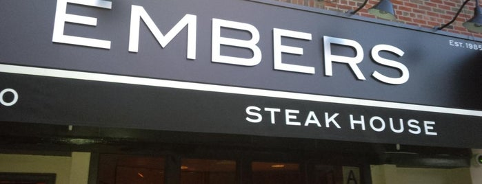 Embers Steakhouse is one of Dan's Eats.