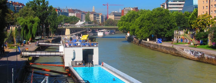 Badeschiff is one of Vienna Highlights #4sqCities.