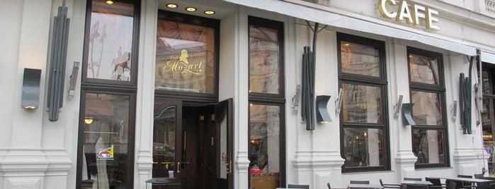 Café Mozart is one of wien.