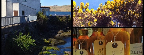 Talisker Distiller. Isle Of Skye is one of Tempat yang Disimpan Sevgi.