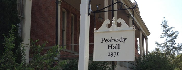 Peabody Hall is one of Miami U.