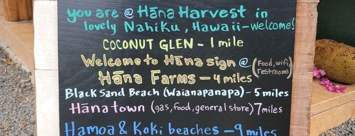 Hana Harvest Cafe is one of Maui.