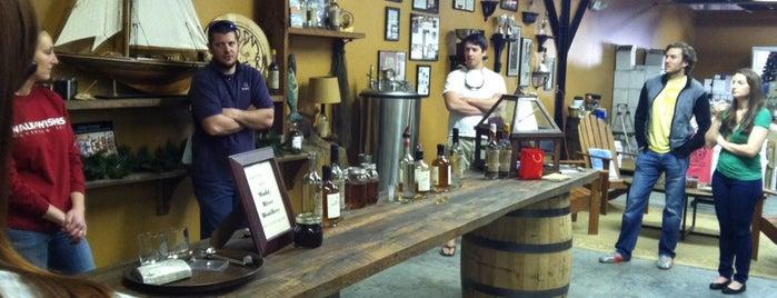 Muddy River Distillery LLC is one of Tempat yang Disukai Rachel.