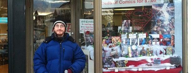 Magic Dragon Comics is one of Orte, die Anthony gefallen.