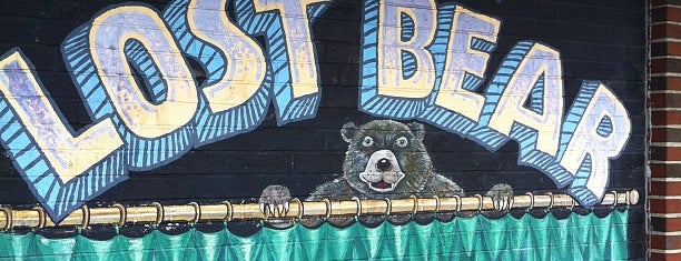 The Great Lost Bear is one of Draft Magazine Best Beer Bars.