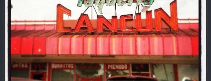 Taqueria Cancun is one of Maddie 님이 좋아한 장소.