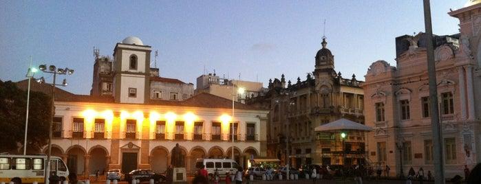 Praça Thomé de Souza is one of Marcos's Liked Places.