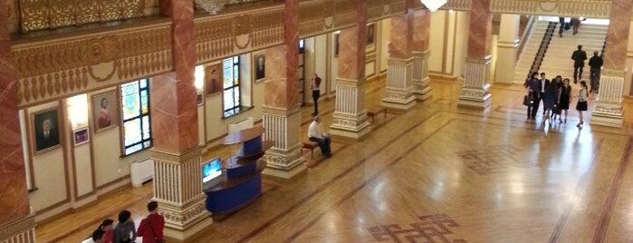 Государственный академический театр оперы и балета (ГАТОБ) is one of almaty.