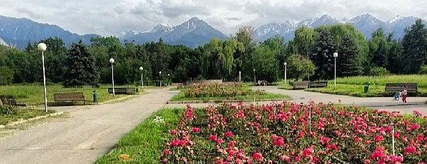 Ботаникалық бақ / Ботанический сад / Botanical Garden is one of В Алматы.