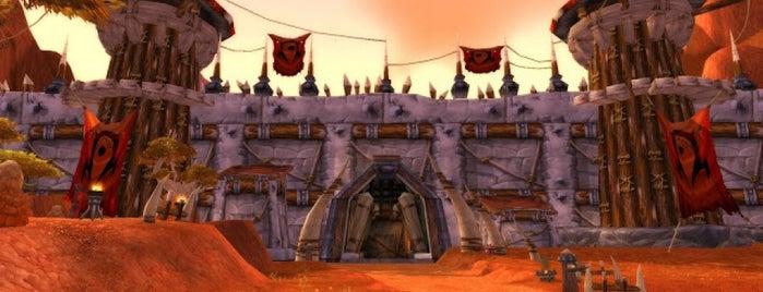 Orgrimmar is one of สถานที่ที่บันทึกไว้ของ Hatice.