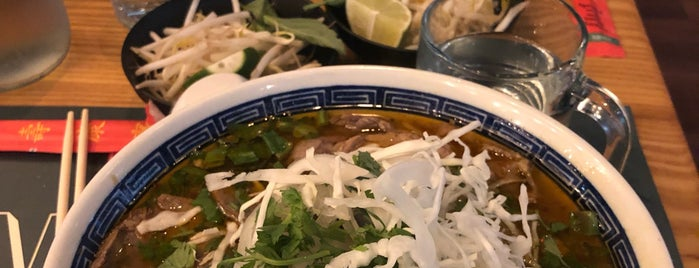 Pho Bar is one of Manhattan To-Do's (Between Houston & 34th Street).