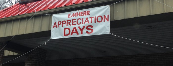E M Herr Farm & Home Center is one of places we like.