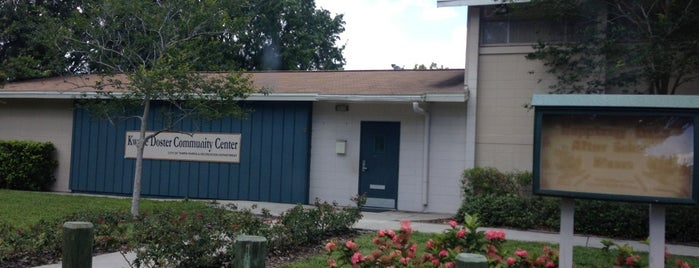 Kwane Doster Community Center is one of City of Tampa Parks.