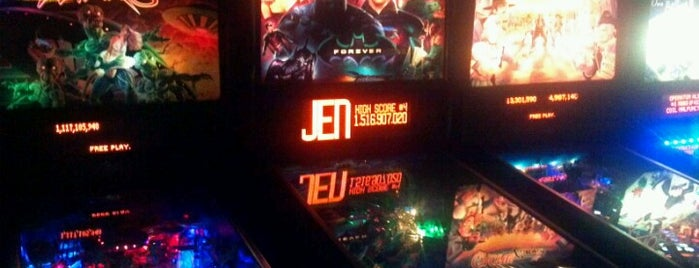Game Over is one of Pinball Destinations.