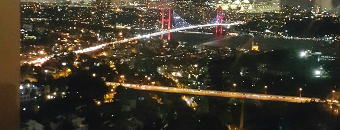 Roof Bar, Renaissance Polat Istanbul Hotel is one of Nite Nite.