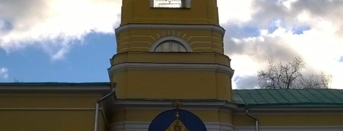 Храм иконы Божией Матери Всех Скорбящих Радость is one of Православные церкви на Таганке.