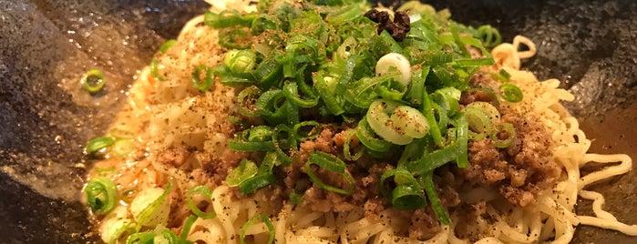 汁なし担担麺専門 キング軒 東京店 is one of 汁なし担々麺.