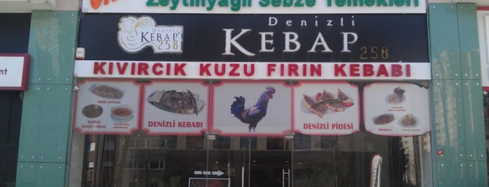 Denizli Kebap 258 is one of saglik.