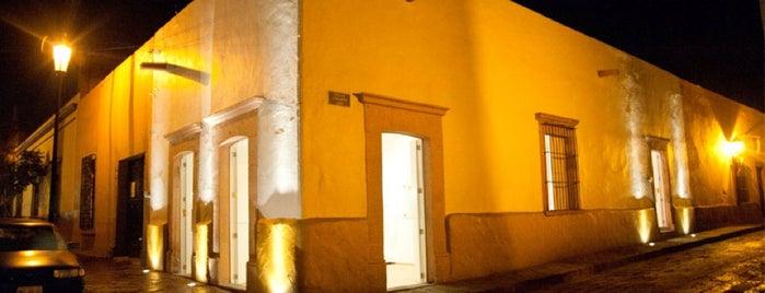 Casa Gutiérrez Nájera is one of ada eats and explores, mexico.