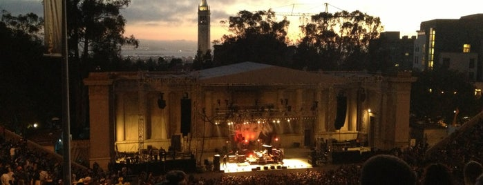 William Randolph Hearst Greek Theatre is one of RockMed Places!.