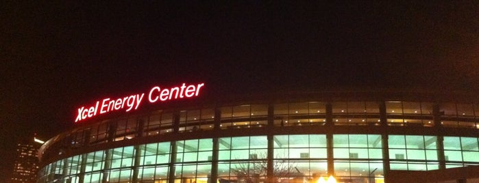 Xcel Energy Center is one of sports arenas and stadiums.
