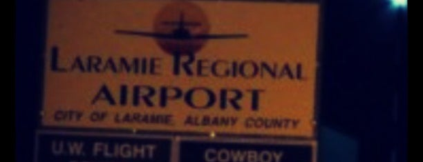 Laramie Regional Airport (LAR) is one of Tempat yang Disukai Anthony & Katie.