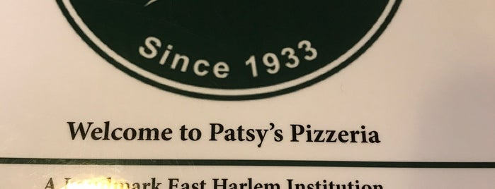 Patsy's Pizzeria is one of Lieux qui ont plu à Dave.