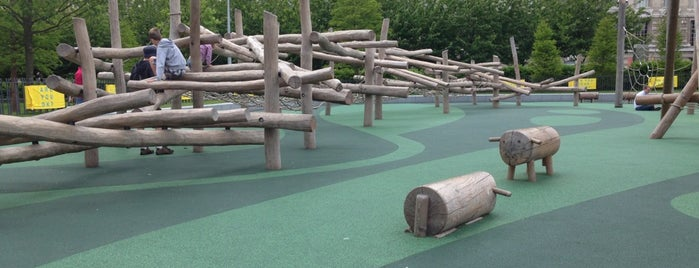 Jubilee Gardens Playground is one of London.