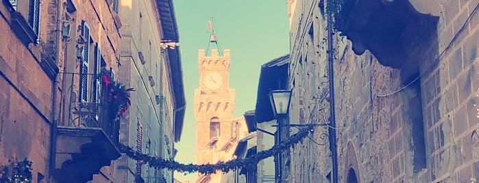 Pienza is one of Toscana.
