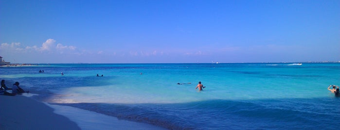 Playa Caracol is one of Cancun.