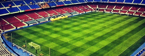 Camp Nou is one of #myhints4Barcelona.