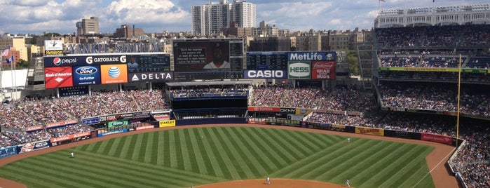 Yankee Stadium is one of Major League Baseball Stadiums.