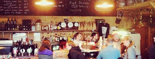 London Fields Brewery Tap Room is one of London's Best for Beer.