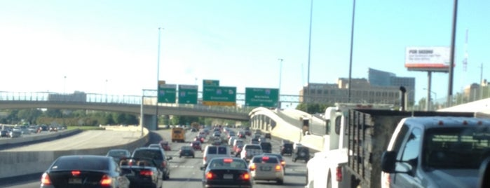 I-85 Hov Lane North is one of The Chad.