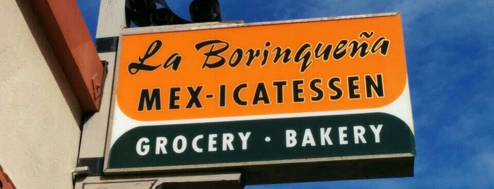 La Borinqueña Mex-icatessen is one of great places to eat.