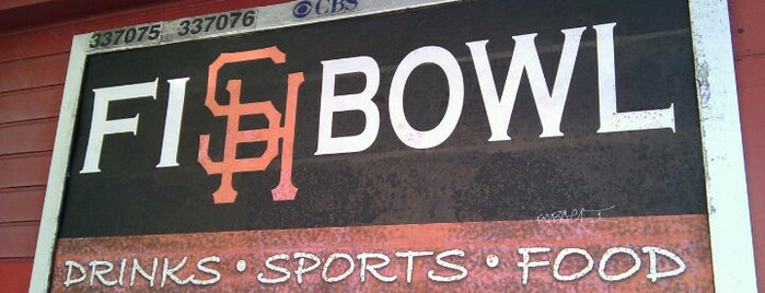 Fishbowl Bar & Grill is one of Bars in San Francisco to watch NFL SUNDAY TICKET™.
