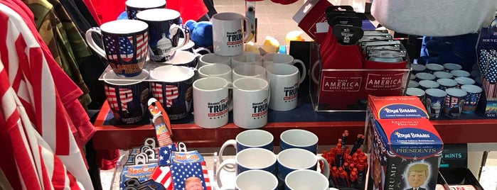 America! Store is one of EWR Terminal C.