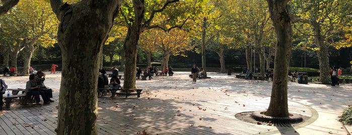 Huaihai Park is one of Shanghai Areas.