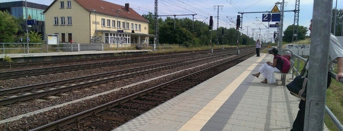 Bahnhof Golm is one of Bahnhöfe besucht !.