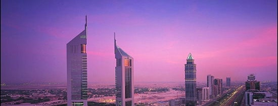 Emirates Towers is one of Meskenler.