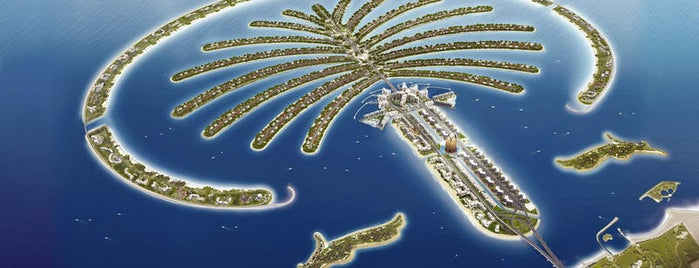 Palm Jumeirah is one of Dubai List.