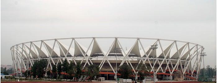 Jawaharlal Nehru Stadium is one of As minhas visitas.