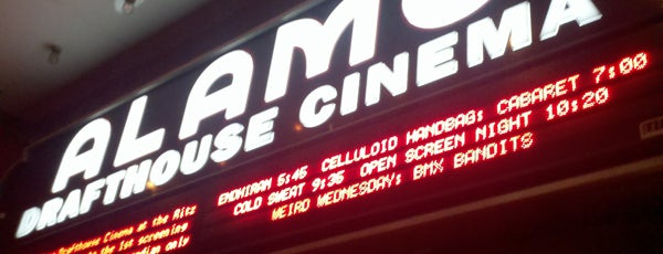 Alamo Drafthouse Cinema is one of SXSW® 2013 (South by Southwest) Guide.